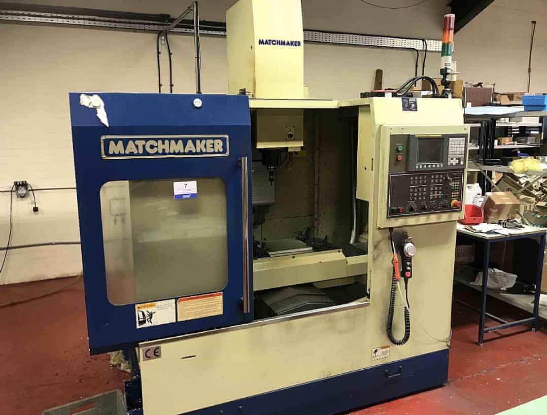Matchmaker Mini Mill 2 - Livingston Machine Tools